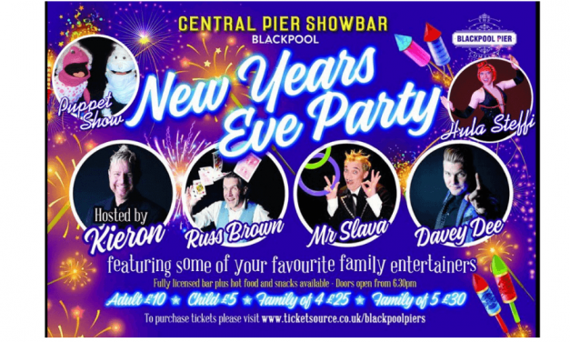 Blackpool Pier New Years Eve Party