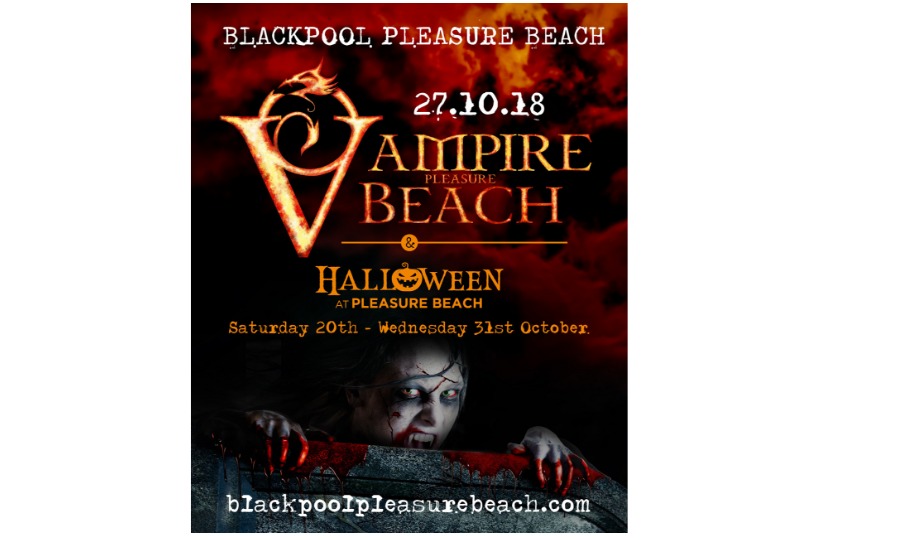 Halloween 2018 – Vampire Beach at Blackpool Pleasure Beach
