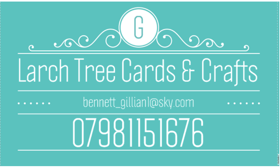Larch Tree Cards & Crafts