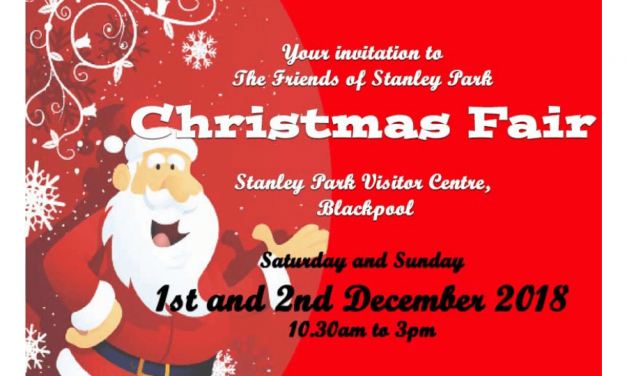 Christmas Fair Stanley Park Blackpool