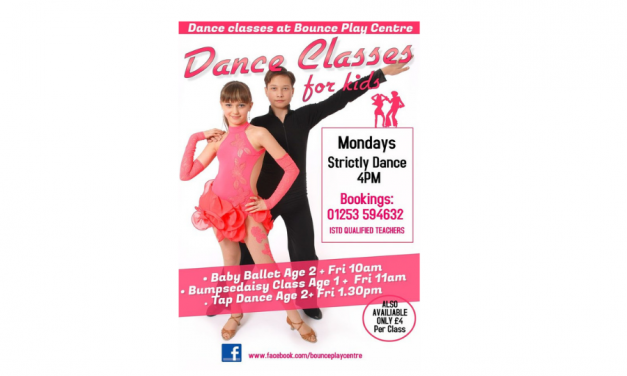Dance Classes for Kids at Bounce Play Centre Blackpool