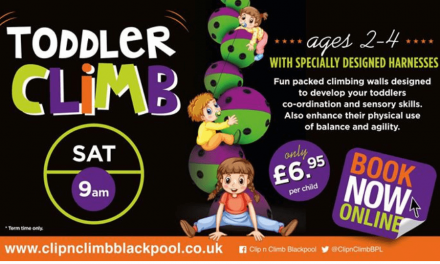 Clip n Climb Parent & Toddler Groups